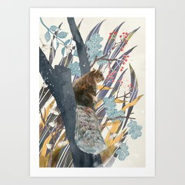 waiting for autumn Art Print