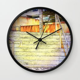 Stairs to Paradise (for some) Wall Clock