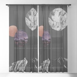 Space I Sheer Curtain