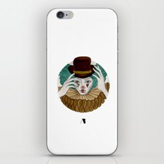 Pierrot...Pierrette iPhone Skin