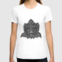 lotus T-shirts featuring Lotus by Luna Portnoi