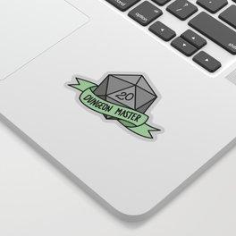Dungeon Master D20 Sticker