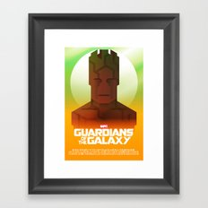 Guardians of the Galaxy - Groot Framed Art Print