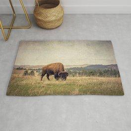 Bison Land Rug