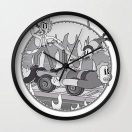 1920's Multiverse Wall Clock