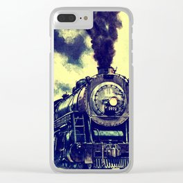 Locomotive Clear iPhone Case