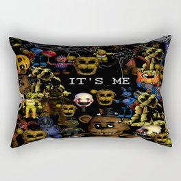 FNAF Cluster Design Rectangular Pillow