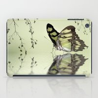 malachite iPad Cases featuring Malachite reflection by Lyn Evans