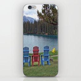 Three Chairs iPhone Skin