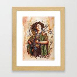 The Merry Widow Framed Art Print
