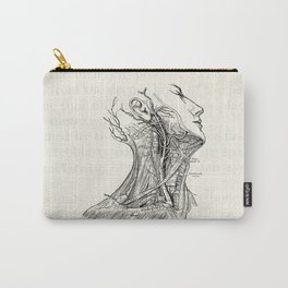 Arteries of the Neck Vintage Medical Illustration Carry-All Pouch