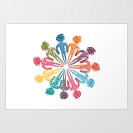 social media personal Art Print