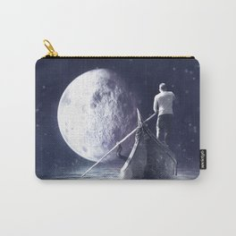 Off to the Moon Carry-All Pouch