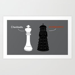 Ultimate Checkmate Art Print
