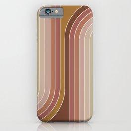 Gradient Curvature IX iPhone Case
