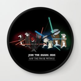 Join the Shark Side! Wall Clock