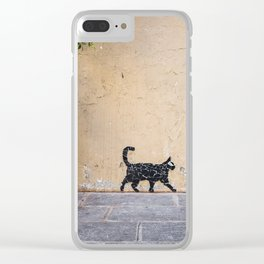 Keep walkin' Clear iPhone Case