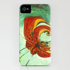 Tiger Lily iPhone (4, 4s) Slim Case