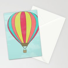 IT'S TIME TO EXPLORE- HOT AIR BALLOON Stationery Cards