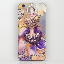 Inner Journey of Jester Buttons iPhone Skin