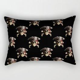 The Jolly Roger Pirate Skull Pattern Rectangular Pillow