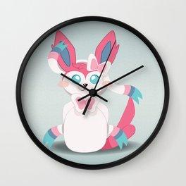 Evolution Bobbles - Sylveon Wall Clock