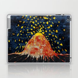 Erupting volcano Laptop & iPad Skin