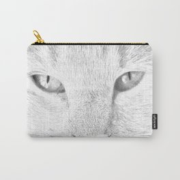 sandy, close up, drawing b&w Carry-All Pouch