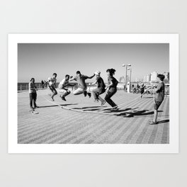 Boys Having Fun Art Print