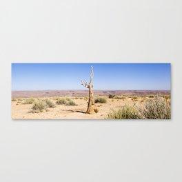 Namibian Landscape - Dead Quiver Tree Canvas Print