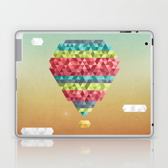 Triangular Skies Laptop & iPad Skin