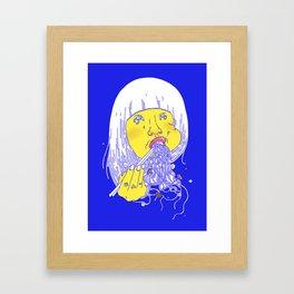 FEED ME 1 Framed Art Print