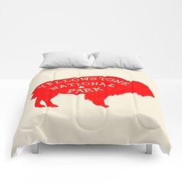 Yellowstone National Park Comforters