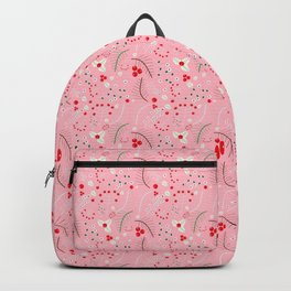 mistletoe Pink Backpack