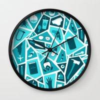 breaking Wall Clocks featuring Breaking Bad by Felix Rousseau