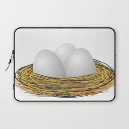 Eggs in the nest Laptop Sleeve