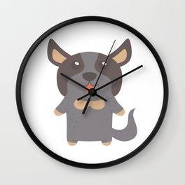 Cattle Dog Gift Idea Wall Clock