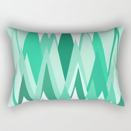 The Frozen Forest Rectangular Pillow