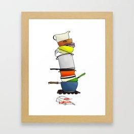 ...or Why I Don't Cook Framed Art Print