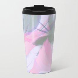 Flowering Vines in Soft Pink Travel Mug