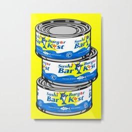 Warhol Tuna Cans Metal Print