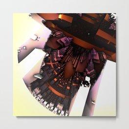 Sardine bedclothes Metal Print