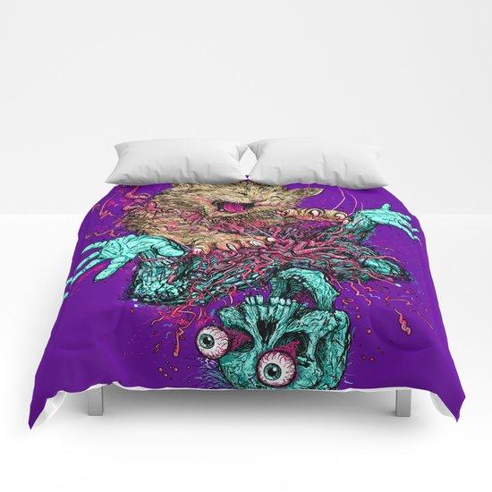 Zombie Nomz Comforters