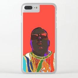 Biggie Smalls Clear iPhone Case