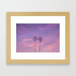 California Palms Framed Art Print