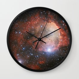 The Star Formation Region NGC 3324 Wall Clock