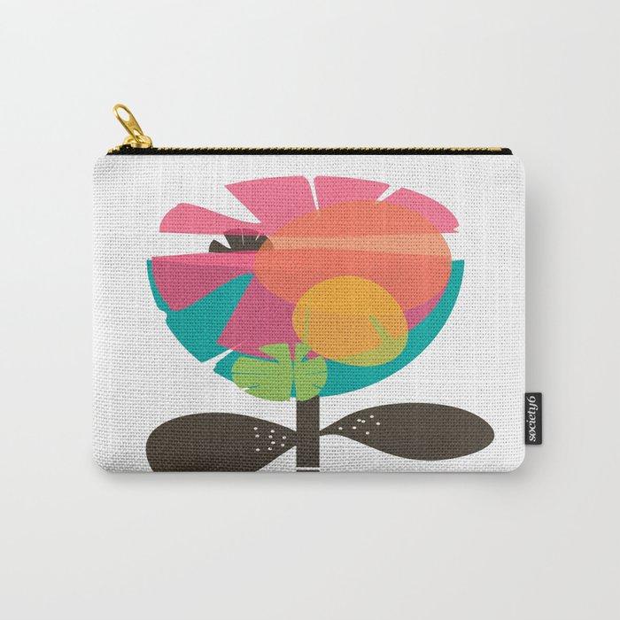 La Flor Carry-All Pouch