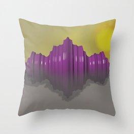 Morning Figure Throw Pillow
