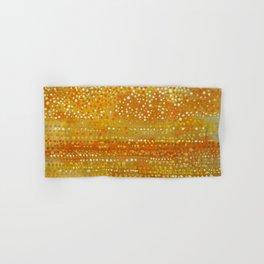Landscape Dots - Orange Hand & Bath Towel