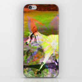 goat flower iPhone Skin